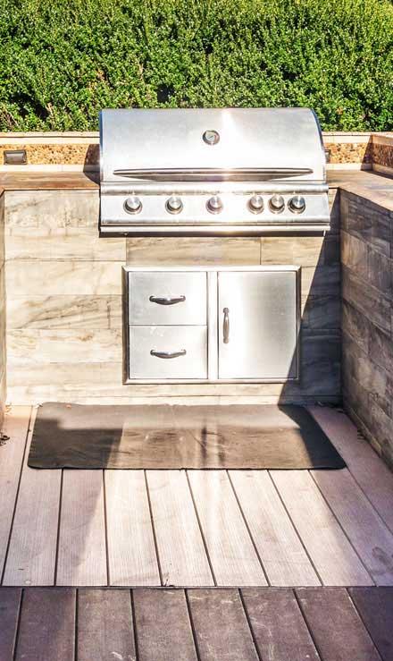Bluewater Outdoor Services Outdoor Kitchen