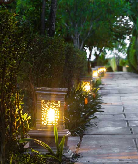 Bluewater Outdoor Services Residential Landscape Lighting