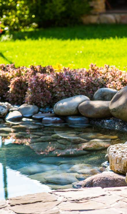 Bluewater Outdoor Services Residential Water Features