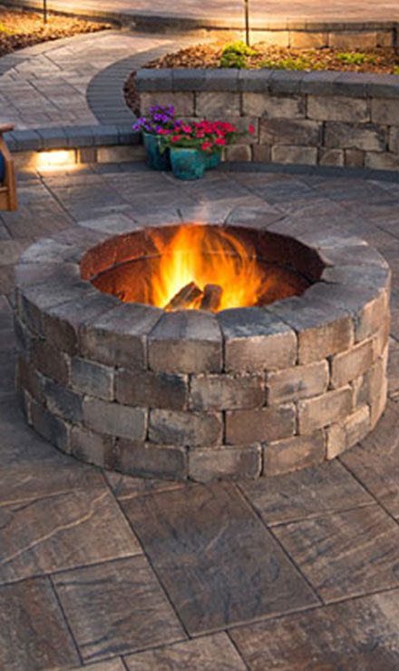 Bluewater Outdoor Services Outdoor Fire Pits