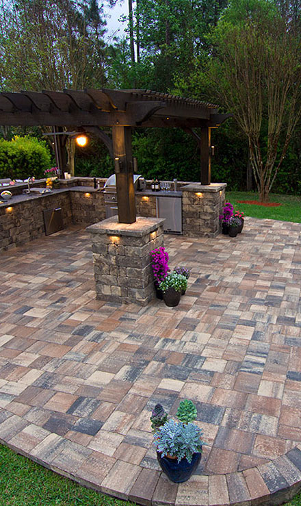 Bluewater Outdoor Services Patio Construction